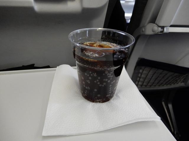 LH329の搭乗レビュー写真