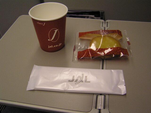 JAL2569の搭乗レビュー写真