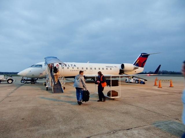 DL5170の搭乗レビュー写真