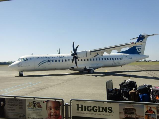 NZ5076の搭乗レビュー写真