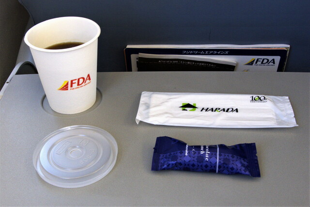 FDA207の搭乗レビュー写真