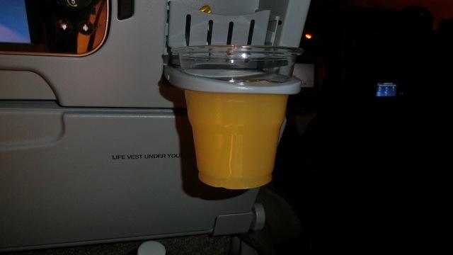 SQ634の搭乗レビュー写真