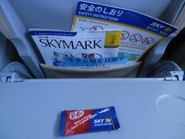 SKY768の搭乗レビュー写真