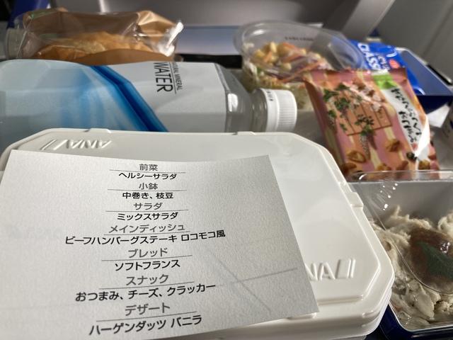NH2029の搭乗レビュー写真