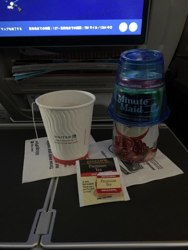 UA300の搭乗レビュー写真