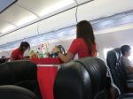 PQ7005の搭乗レビュー写真